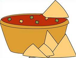 Tortilla clipart cute Chips Clipart Chips Tortilla Salsa