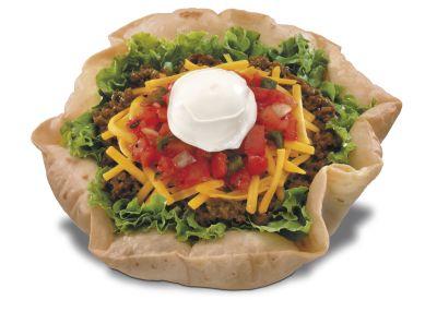 Bowl clipart taco salad Extra Calories Club Salad Mexican