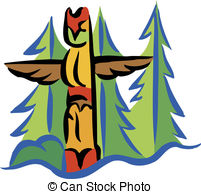 Totem Pole clipart   Illustrations pole Art