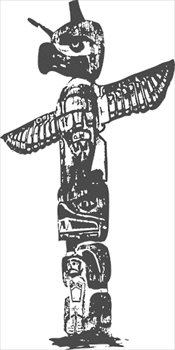 Totem Pole clipart polynesian  totem Images and Photos