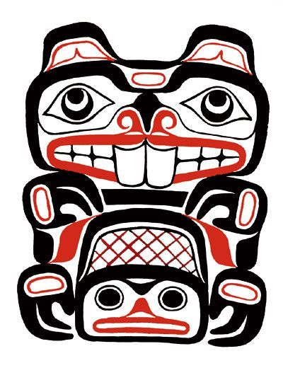 Totem Pole clipart canoe 15 on this inspiration inspiration