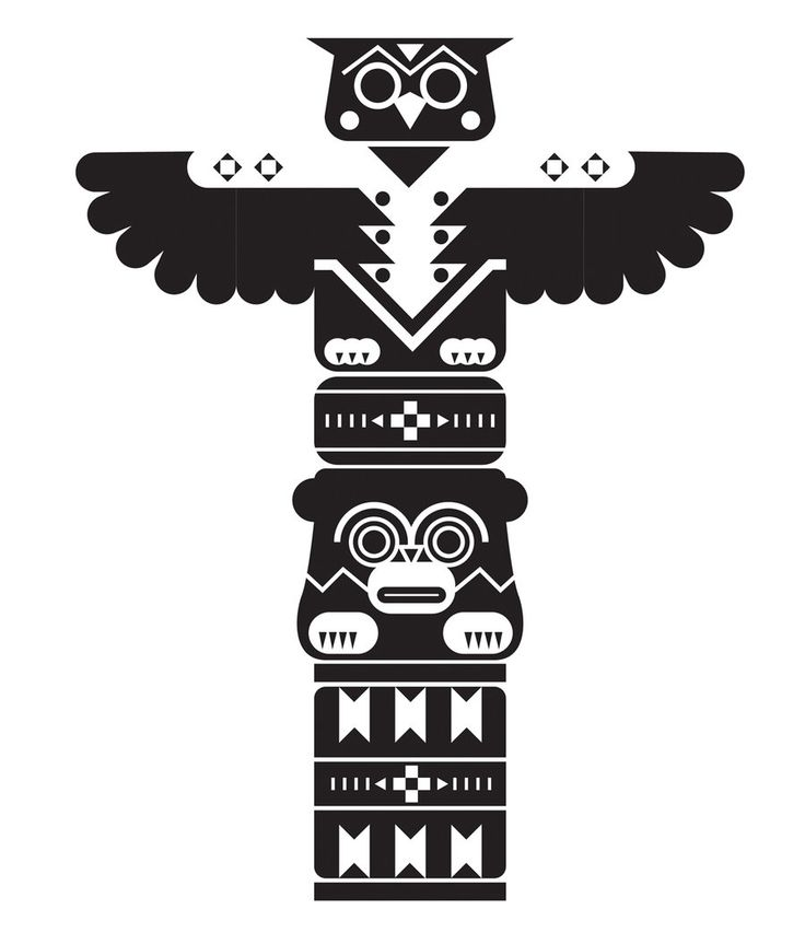 Totem Pole clipart cherokee TOTEM best images Google 11