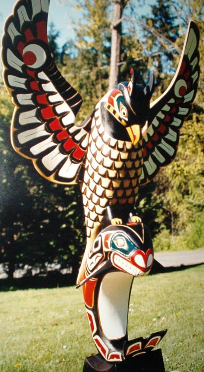 Totem Pole clipart chinook For inside Keatan a chief