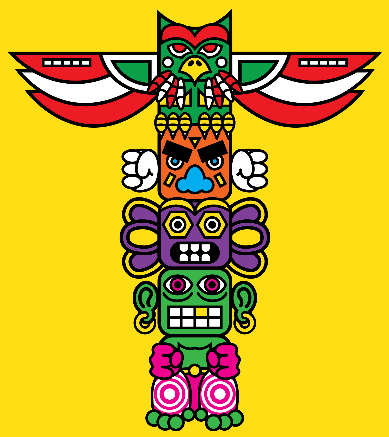 Totem Pole clipart chinook To ve a  design