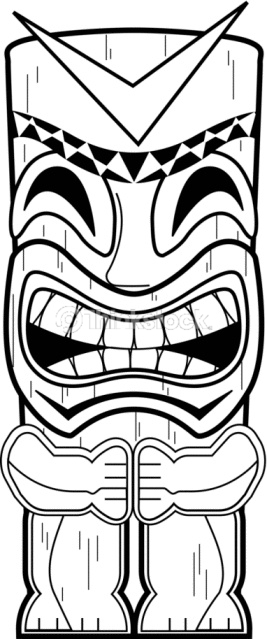 Totem Pole clipart drawn Google Decs Search poles tiki