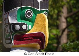 Totem Pole clipart eagle Of Eagle Totem Eagle Photo