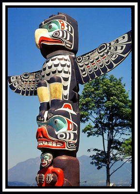 Totem Pole clipart haida Paintings images 75 best on