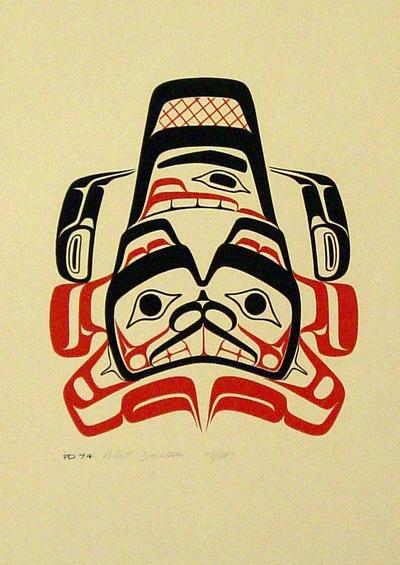 Totem Pole clipart haida Someday Someday Haida Beaver