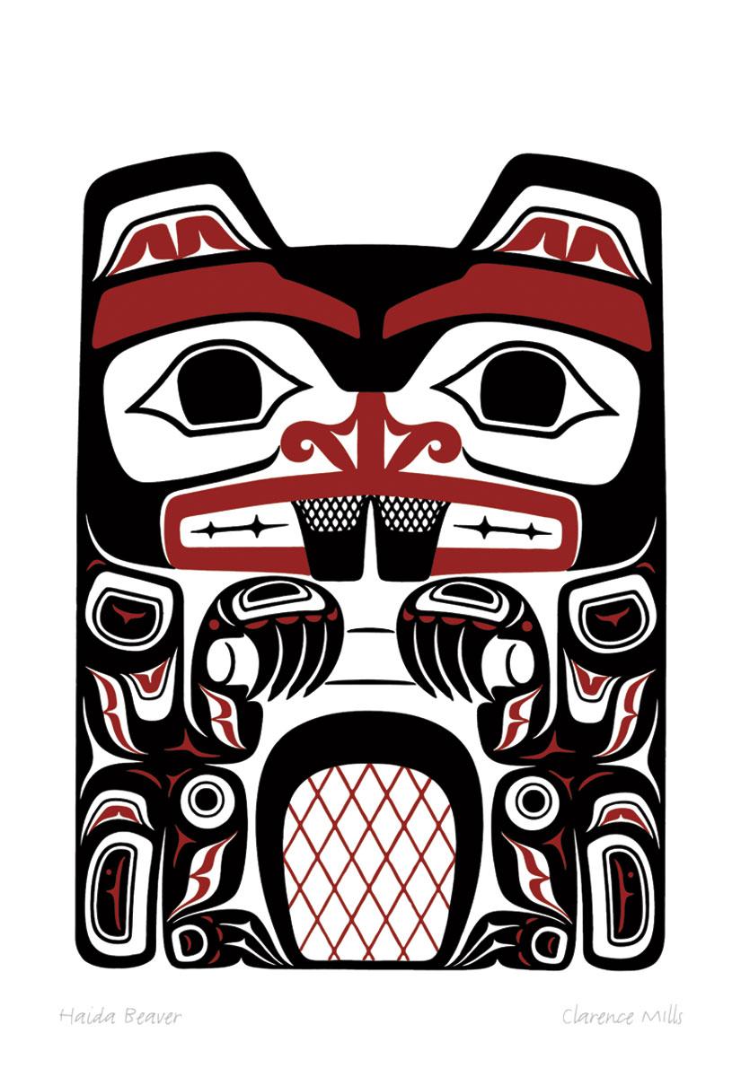 Totem Pole clipart haida More Best Mills Totem