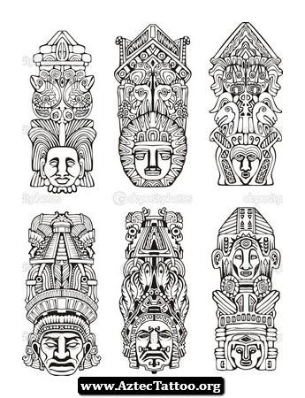 Totem Pole clipart inca 05 tattoo Tattoo Totem Tattoo