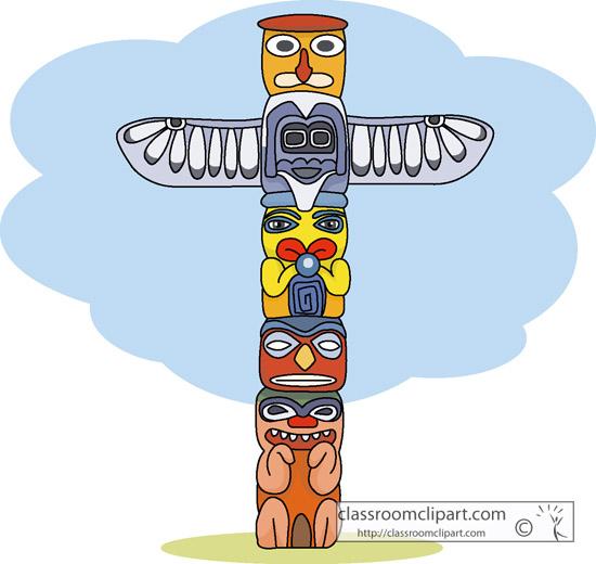 Totem Pole clipart kid Pole pole totem totem Clipart