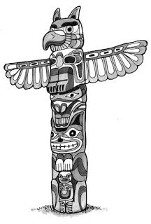 Totem Pole clipart makah ~ blogspot Columbia bp