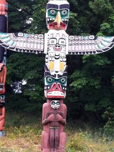 Totem Pole clipart makah In Poles Native Stanley Vancouver