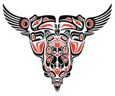 Totem Pole clipart makah Meanings  Tattoo and Pole