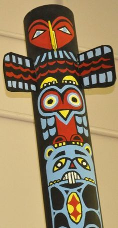 Totem Pole clipart paper Best touches on Pinterest