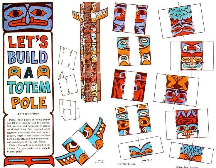 Totem Pole clipart paper On pole poles totem images
