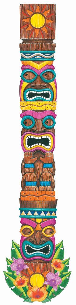 Totem Pole clipart paper Tiki Bedroom  Webhats wants
