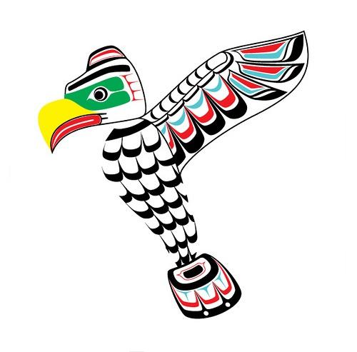 Totem Pole clipart thunderbird Totem Cliparts Thunderbird Zone Vector
