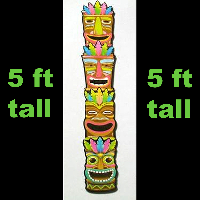 Totem Pole clipart tiki man Download Face Man Art –
