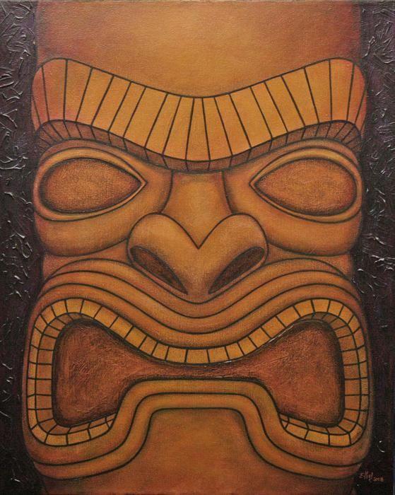 Totem Pole clipart tiki man Images Pin this more Tiki