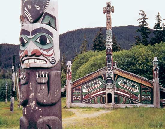 Totem Pole clipart tlingit indians American and Pinterest totem State