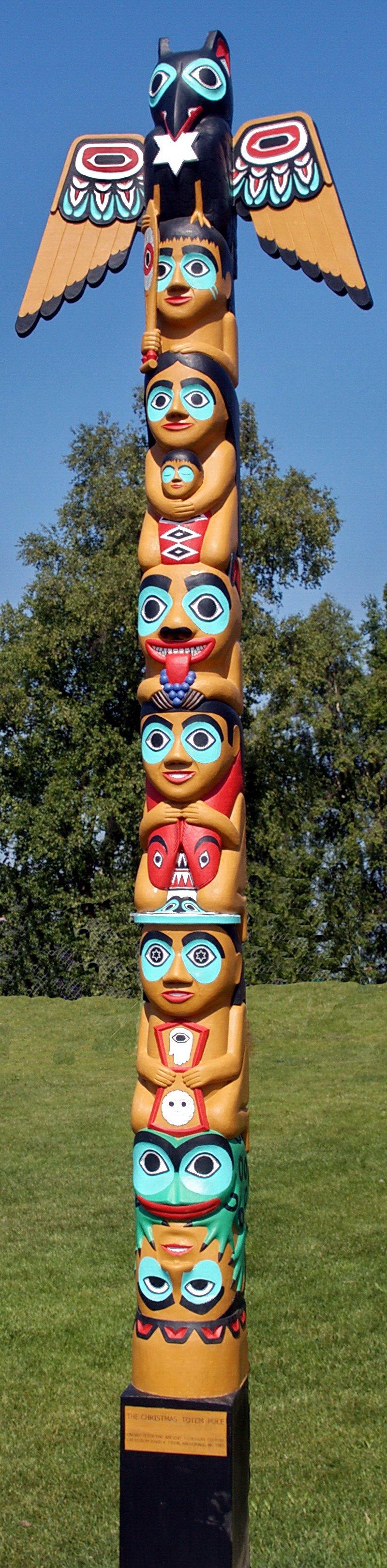 Totem Pole clipart tlingit indians David K K Pinterest Fison