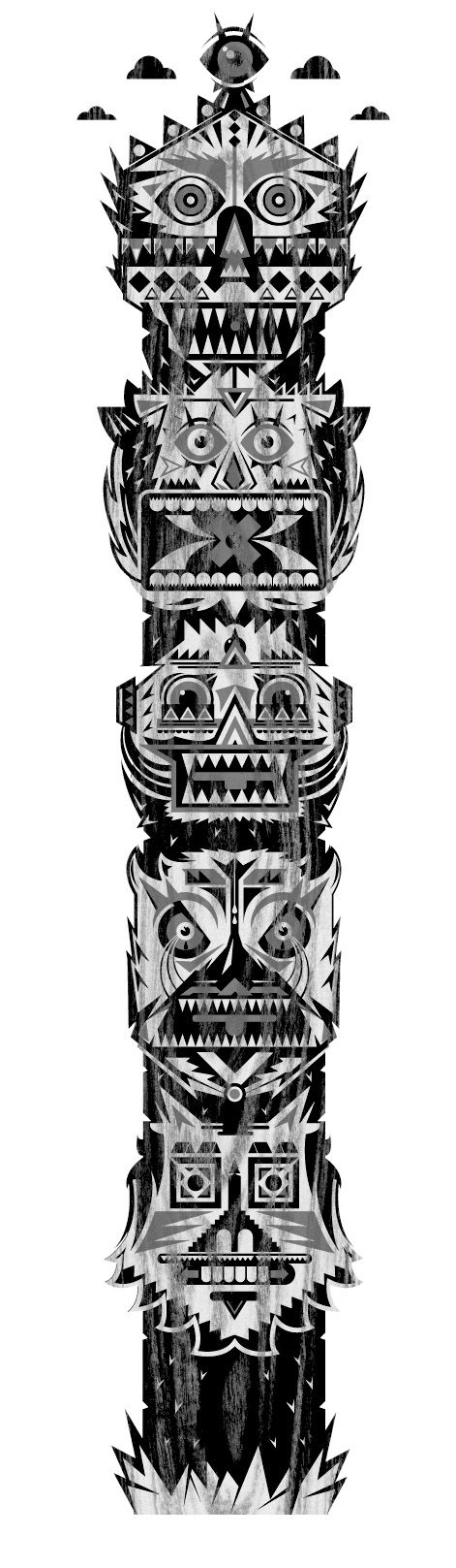 Totem Pole clipart viking Best pole totems cool is