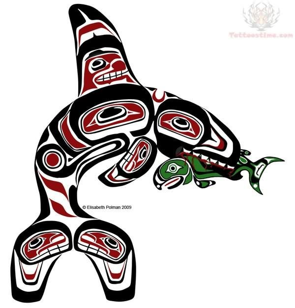 Totem Pole clipart whale On & Search 367 Poles