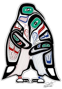 Totem Pole clipart whale And Art Art  NW