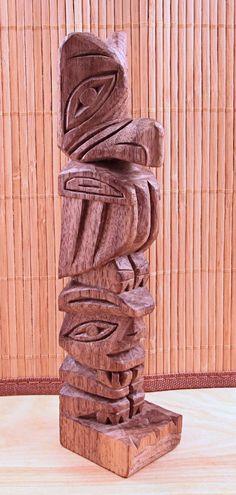 Totem Pole clipart wood carving Totem jpg Totems (JPEG 640