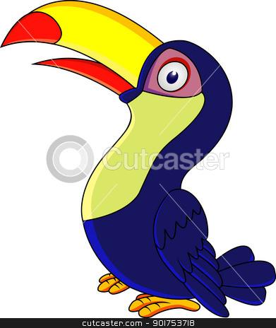 Beak clipart toucan Cartoon Of bird Toucan stock
