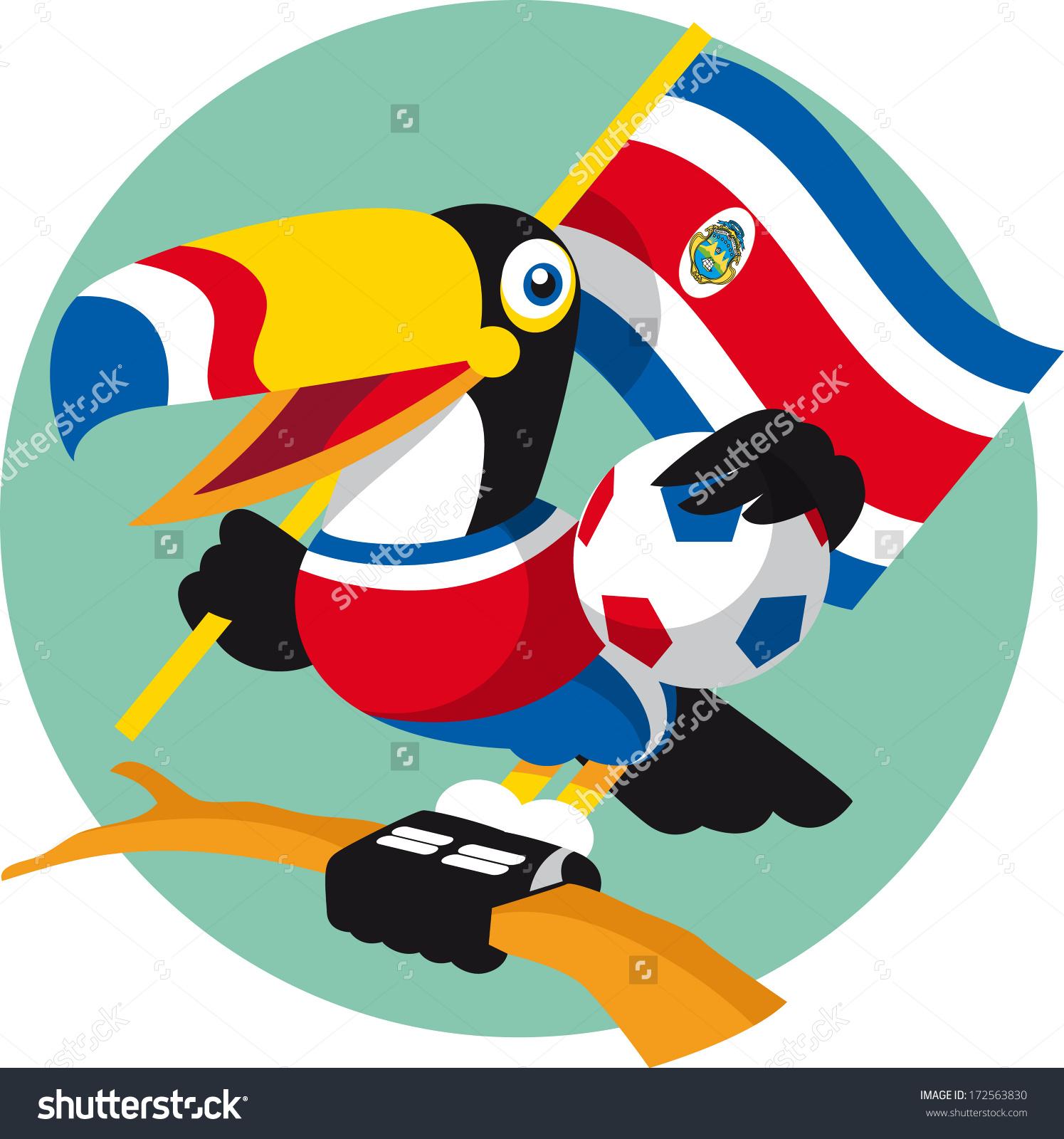 Toucan clipart costa rica #6