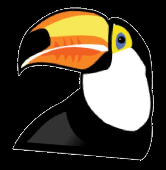Toucan clipart costa rica #4