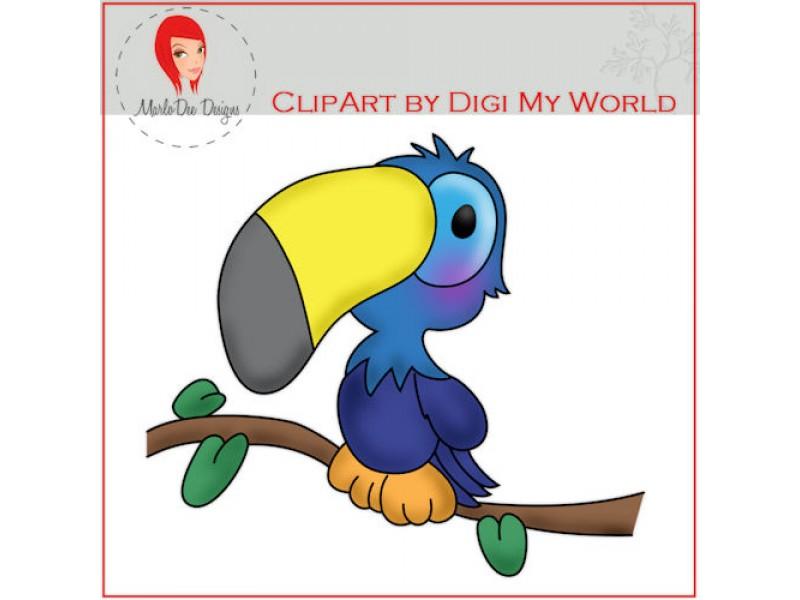 Toucanet clipart rainforest monkey #2