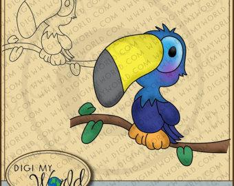 Toucanet clipart cartoon #6