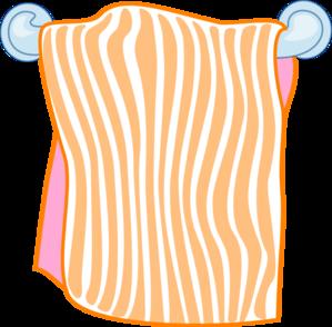 Towel clipart Orange Orange Art Art Towel