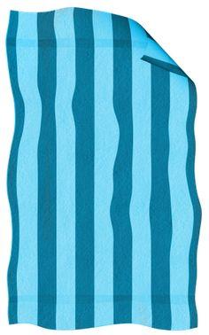 Towel clipart blue Cartoon Beaches Beach towel Beach