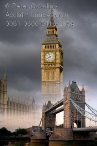 Tower Bridge clipart big ben london A Collage in Collage of
