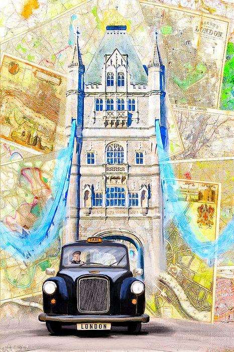 Tower Bridge clipart black cab Cab Best 20+ london Black