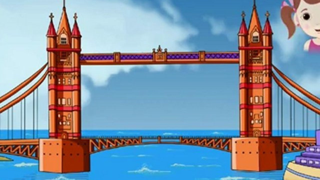 Broken Bridge clipart fallen Rhymes London 01:11  Lyrics