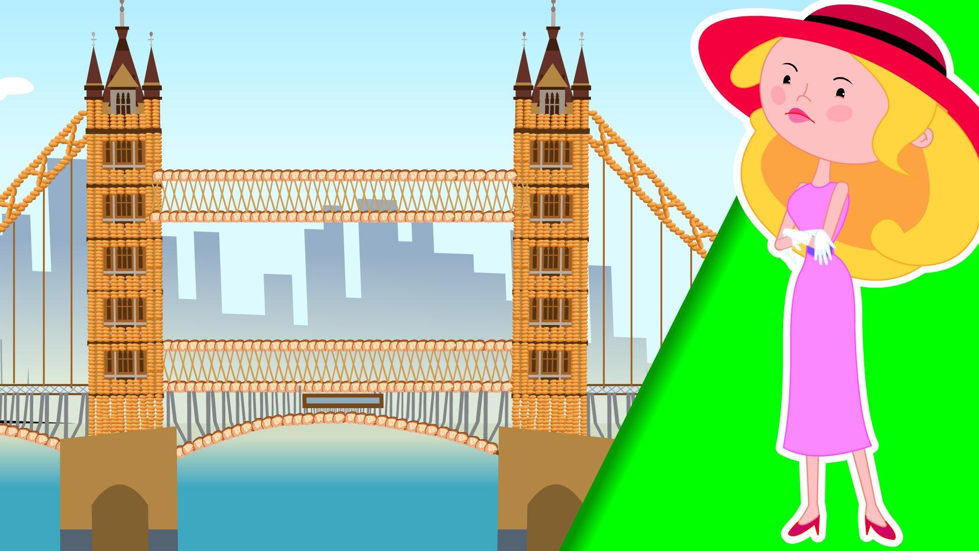Broken Bridge clipart fallen Rhyme London  is YouTube