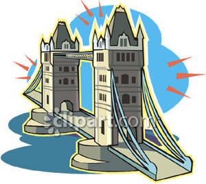 Tower Bridge clipart london city Bridge london art (74+) clip