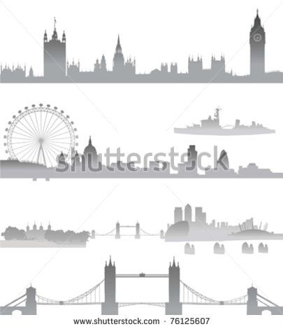 Tower Bridge clipart london city London Eye Very Tower Detailed