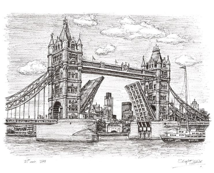 Drawn bridge tower bridge On Bridge Tower 25+ Stephen
