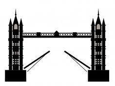 Tower Bridge clipart london soldier Clipart bus clipart Etsy Bridge