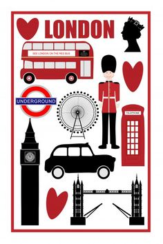 Tower Bridge clipart queen england London London Clip Digital Realistic