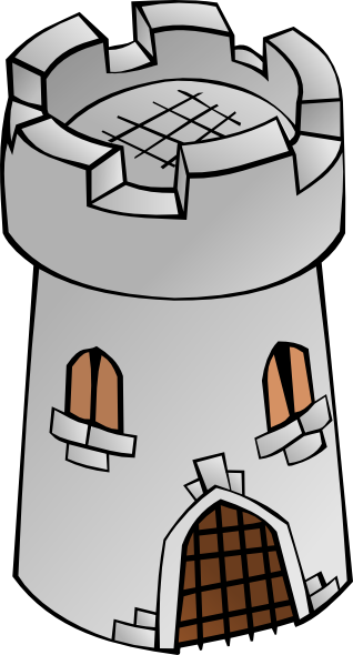 Fortress clipart Panda Tower Clipart Free Images