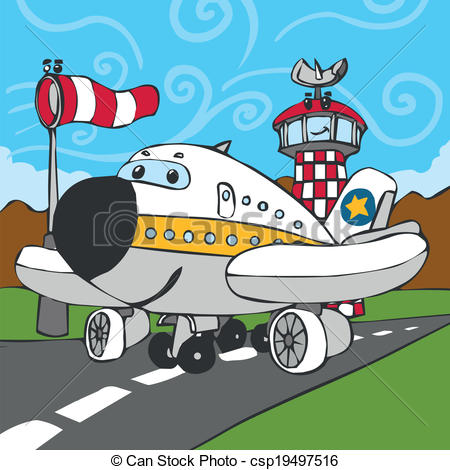 Tower clipart aircraft control #4