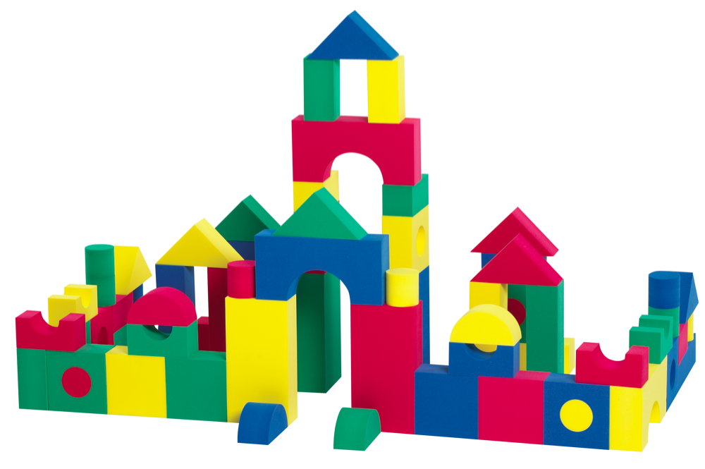 Cube clipart foam Blocks Clip Set Foam Building