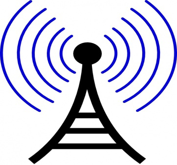 Tower clipart communications tower #14